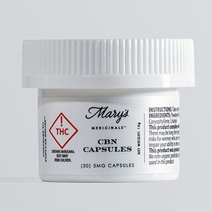 Marys Medicinals CBN Capsules